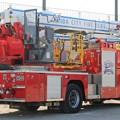写真: 和歌山県有田市消防本部 屈折梯子付ポンプ車「天神」(後部)
