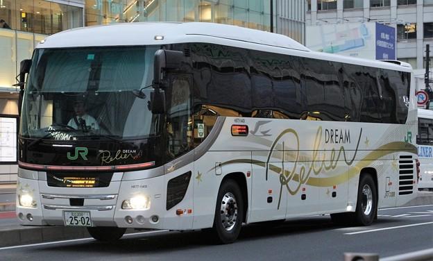 JRバス関東 夜行高速バス「ドリームルリエ号」(ハイデッカー)