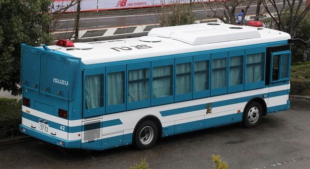 愛知県警 大型輸送車(後部)