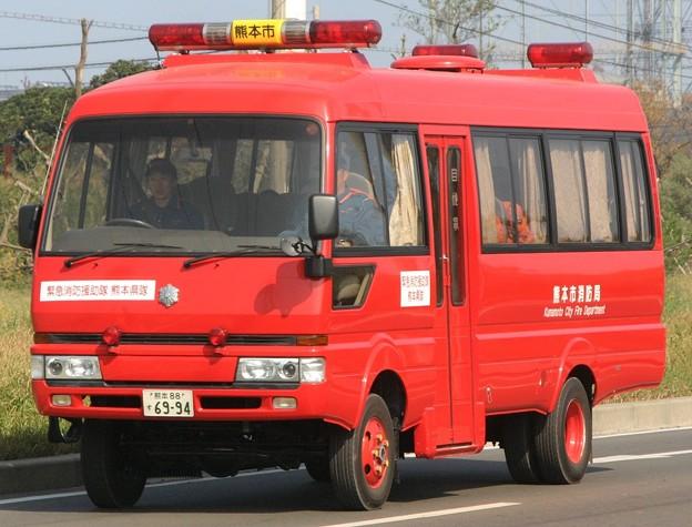 熊本市消防局 多目的車(人員輸送車)