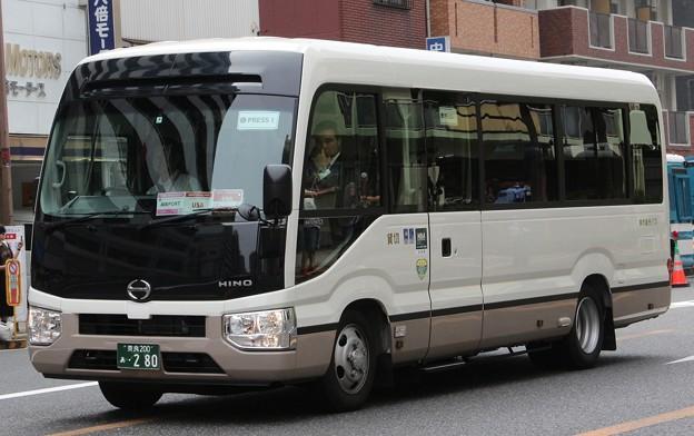 奈良観光バス マイクロバス