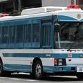 長野県警 関東管区機動隊 大型輸送車