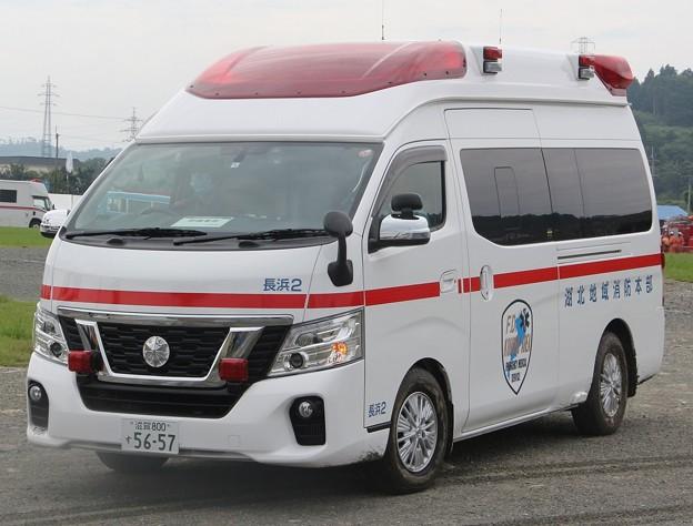 滋賀県湖北地域消防組合 高規格救急車