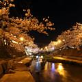 写真: 玉造の夜