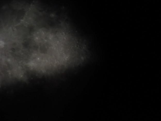 宇宙船から撮りました!