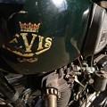 写真: ヴィンテージバイク