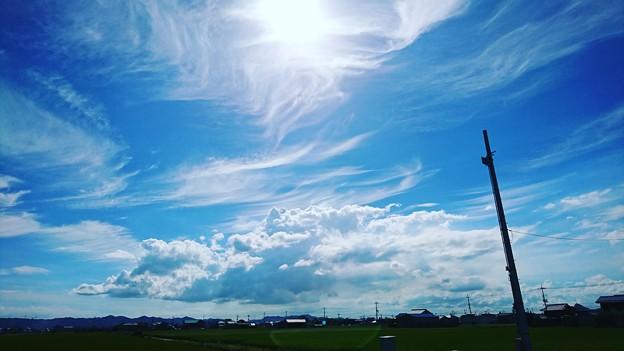 Photos: 踊る雲たち