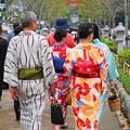 Photos: rs-180916_75_和服で・S18200・α60(鎌倉・段葛) (6)