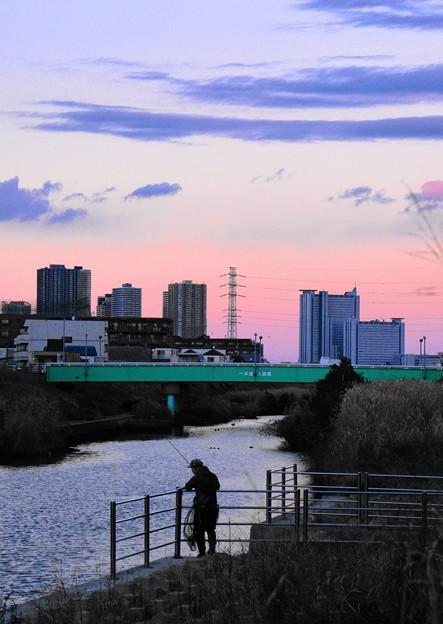 190102_Y51_釣り人のいる川で・S18200・α60(矢上川) (23)