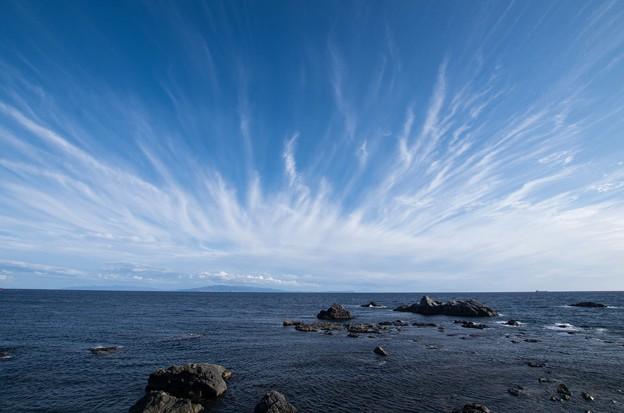 北海道最南端の空