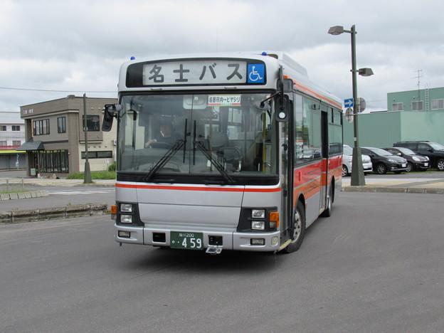 名士バス 日野レインボー 旭川200か・459