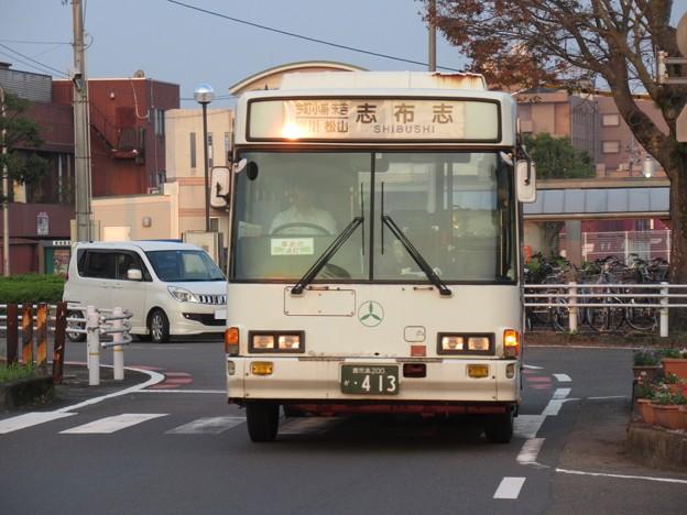 志布志行き 鹿児島交通 いすゞジャーニーK 鹿児島200か・413
