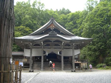 戸隠神社 中社 本堂