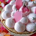 写真: 桜のケーキ