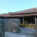 Photos: 竹馬と古民家と..