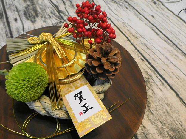 手作りテーブル花