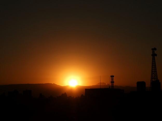 さっき夕陽