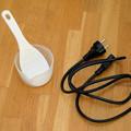 写真: 炊飯器の付属品