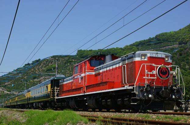 DD51-1191+サロンカーなにわ(9)