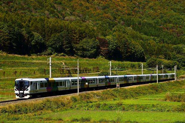 E257系・あずさ3号(4053M)(3)