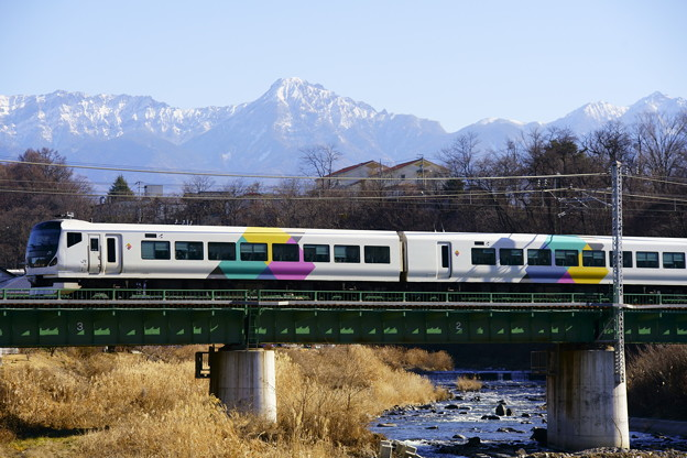 E257系・あずさ7号(57M)(6)