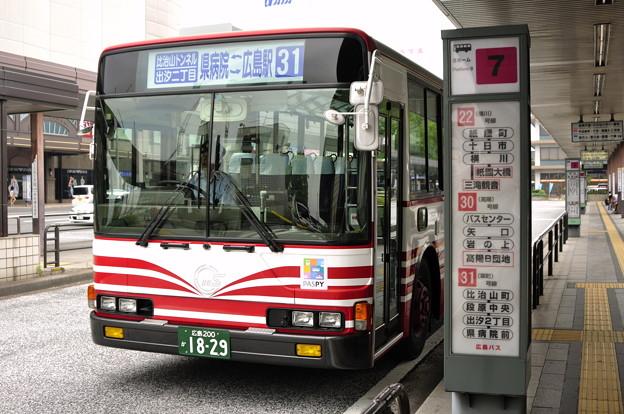 広島200か18-29 広島バス755号車