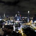 Photos: ホーチミン市の夜景 パノラマ