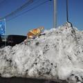 写真: 雪山登山