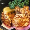 写真: 森林鶏の唐揚げ