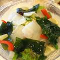写真: 桜鯛の春色サラダ