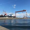 瀬戸内海の造船所