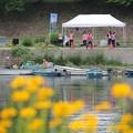 写真: 桂川フェスティバル 渡し舟