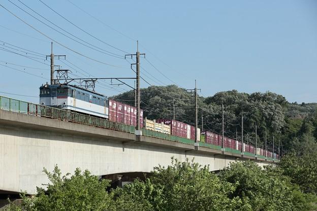 写真: EF65-2074 77レ