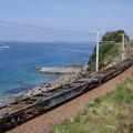 貨物の無い貨物列車 c