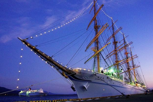 帆船「海王丸」