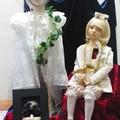 写真: 大丸心斎橋店で開催中の創作人形展に行って来ました。これなんか動き...