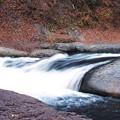 写真: 水、流れています。