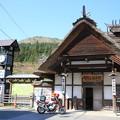 写真: 140507-3東北ツーリング・湯野上温泉駅