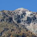 151016-153焼岳登山と上高地・大正池から見た焼岳山頂
