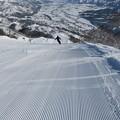 写真: 180206-2石打丸山スキー場・山頂コースの山頂付近から