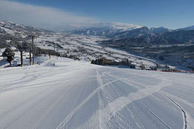 180208-1石打丸山スキー場・銀座ゲレンデ・リフトを降りた付近から