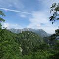 写真: 180726-42再挑戦「霞沢岳登山」・穂高連峰