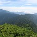 写真: 180726-57再挑戦「霞沢岳登山」・K1ピークからの360度(7/8)