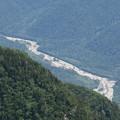 写真: 180726-60再挑戦「霞沢岳登山」・K1ピークからの梓川