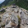 180726-63再挑戦「霞沢岳登山」・K1ピークの様子