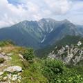 180726-65再挑戦「霞沢岳登山」・K2ピークからの360度(1/10)