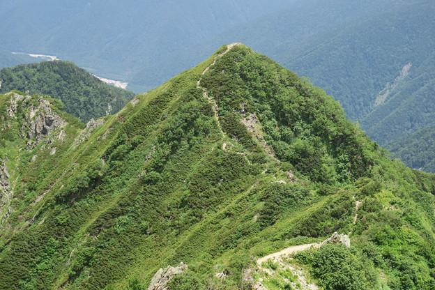 180726-75再挑戦「霞沢岳登山」・霞沢岳への登り