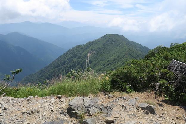 180726-81再挑戦「霞沢岳登山」・霞沢岳からの360度(6/9)