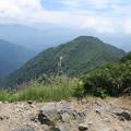 写真: 180726-81再挑戦「霞沢岳登山」・霞沢岳からの360度(6/9)