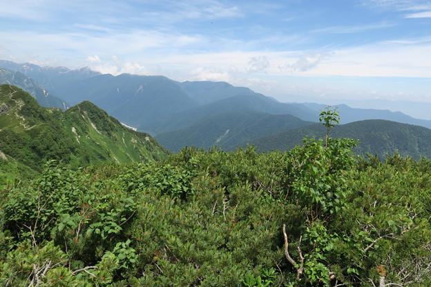 180726-84再挑戦「霞沢岳登山」・霞沢岳からの360度(9/9)